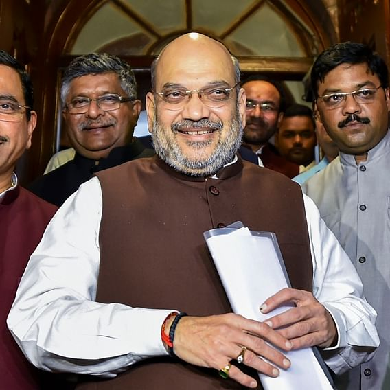 "Amit Shah says that ""BJP leaders will give up their lives to secure Pakistan occupied Kashmir"""