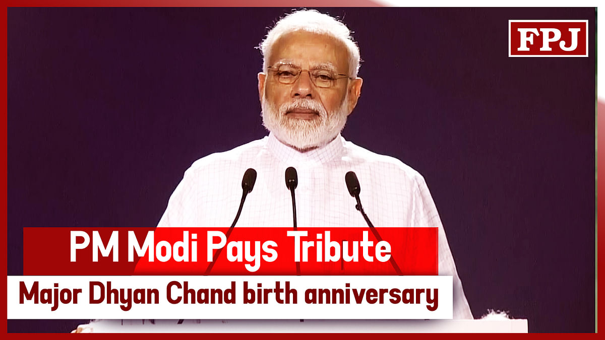 PM Modi Pays Tribute To Major Dhyan Chand On His Birth Anniversary