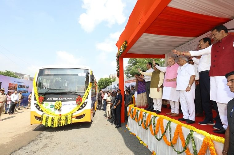 Ahemdabad gets 300 eco-friendly electric buses