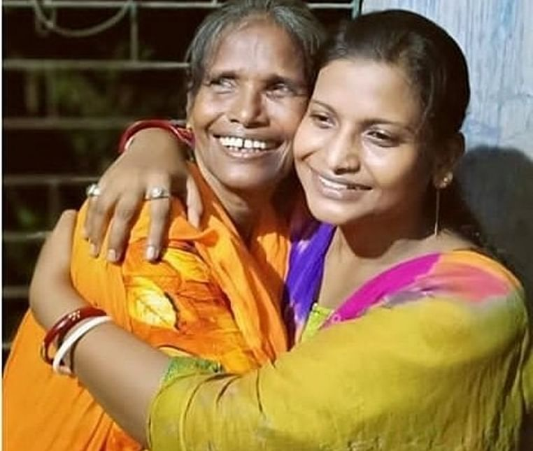 Viral singer Ranu Mondal reunites with daughter after recording song with Himesh Reshammiya