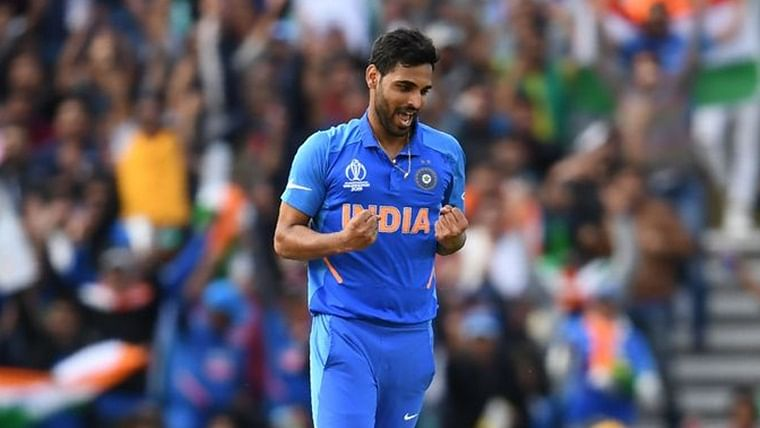 Bhuvi turns Yuvi! Bhuvneshwar Kumar stuns fans with sensational return catch in 2nd ODI against West Indies