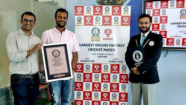 Dream11 enters Guinness World Records for hosting 'Largest Online Fantasy Cricket Match' during IPL final
