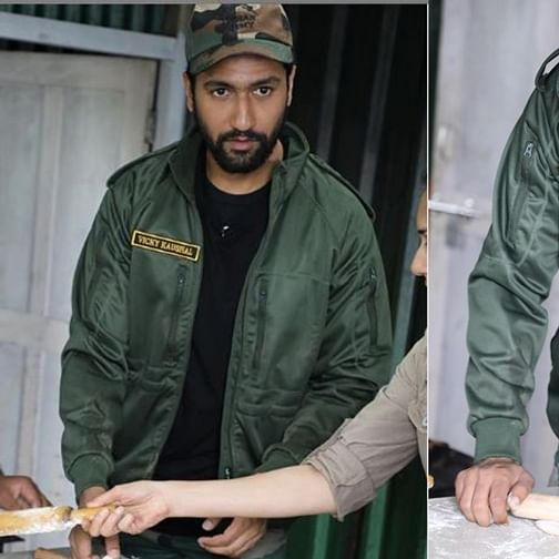 Vicky Kaushal makes first-ever roti, as he turns chef for Indian Army