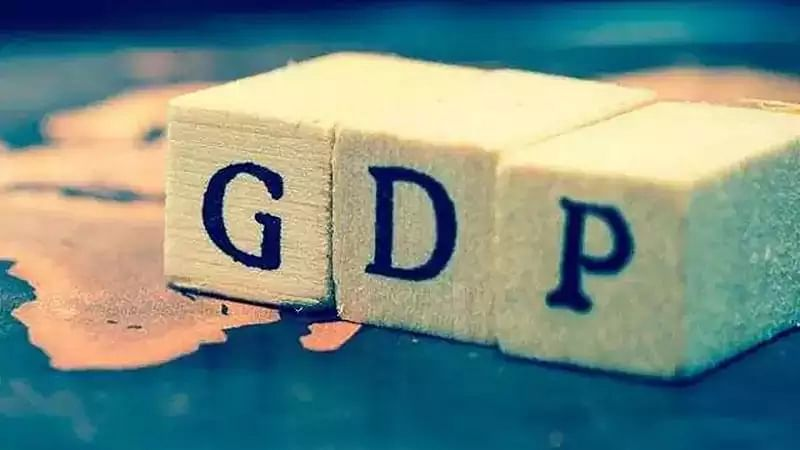 GDP growth rate slowest in 6 years
