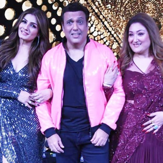 Govinda, Raveena Tandon, and Mohnish Bahl have 'Dulhe Raja' reunion on Nach Baliye 9
