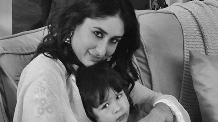 Taimur accompanies mom Kareena Kapoor for ad shoot, picture goes viral