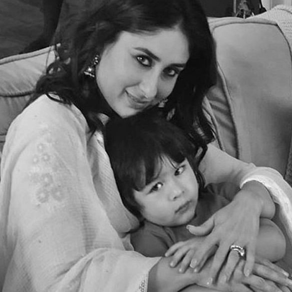 Taimur accompanies mom Kareena Kapoor for ad shoot, picture goes viral