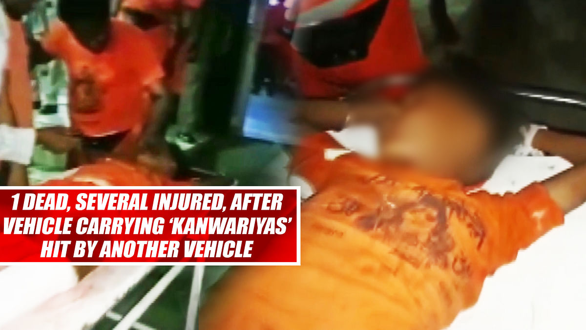 1 Dead, Several Injured, After Vehicle Carrying 'Kanwariyas' Hit By Another Vehicle