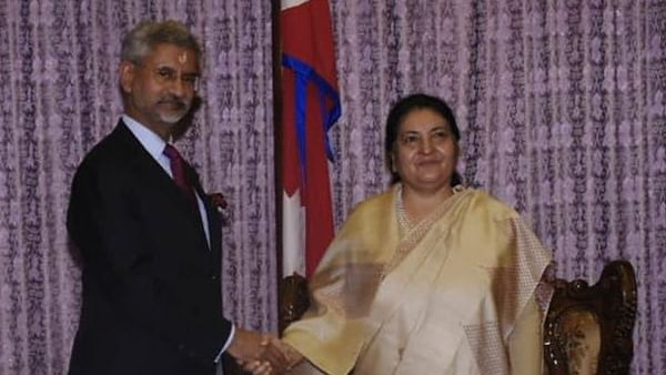 S Jaishankar calls on Nepal President Bidya Devi Bhandari