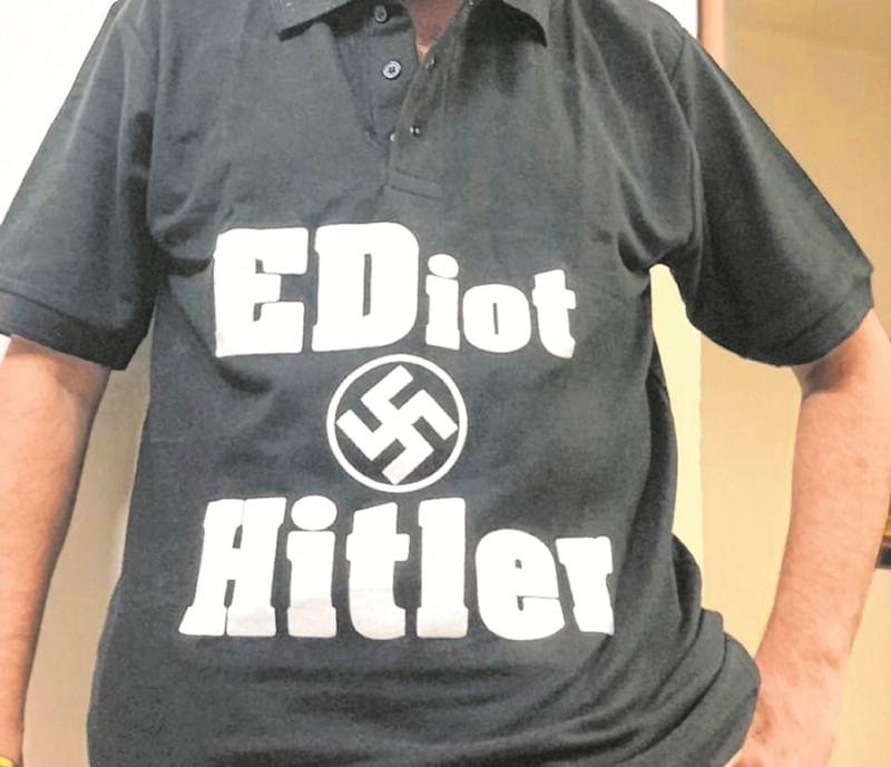 Mumbai: A T-shirt can upset a Government