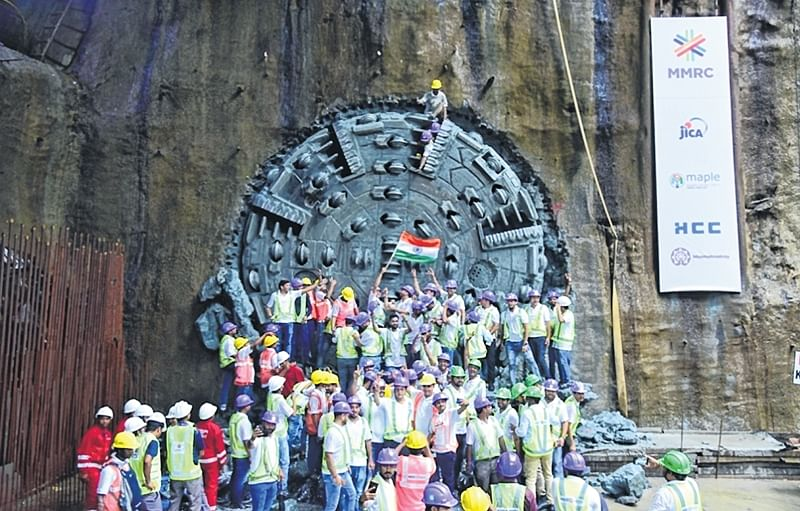 3.82-km CSMT-Mumbai Central tunnelling over