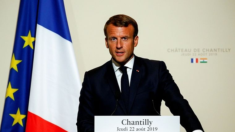 India, Pakistan should resolve Kashmir bilaterally, no third party should 'incite' violence: Emmanuel Macron