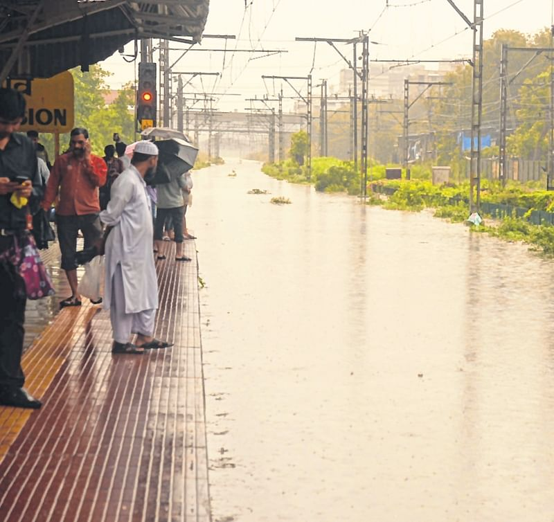 Suburban, long-distance train services suspended
