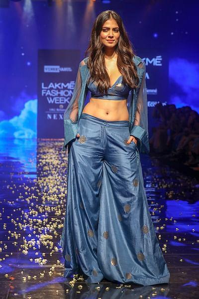 Malvika Mohanan showstopper for Vineet Rahul