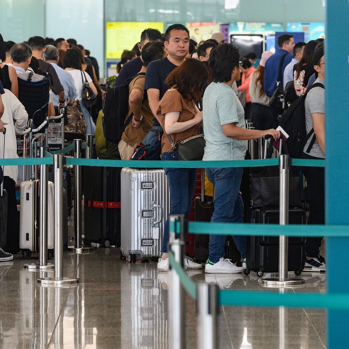Over 215 flights cancelled in Hong Kong Airport; as city hit by strike