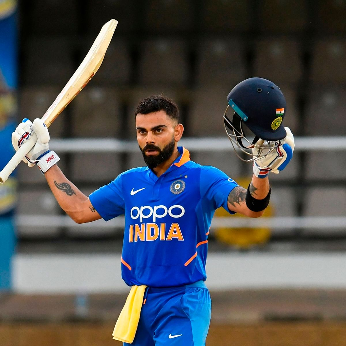 Virat Kohli becomes first batsman to score 20,000 international runs in a decade
