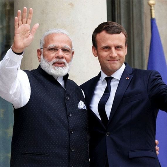 French President Emmanuel Macron to discuss Kashmir with PM Narendra Modi at G7 summit