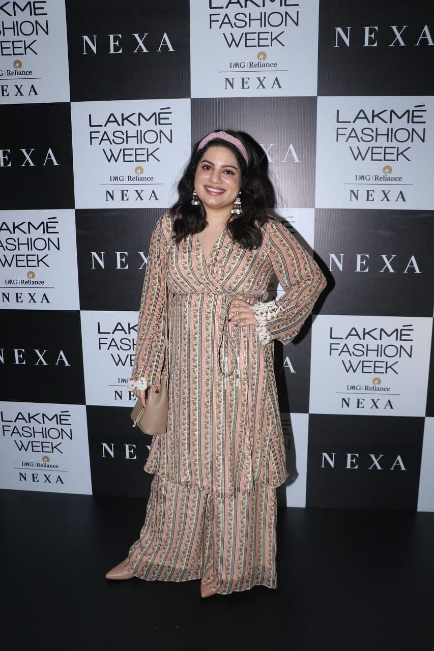 Mallika Dua at LFW 2019