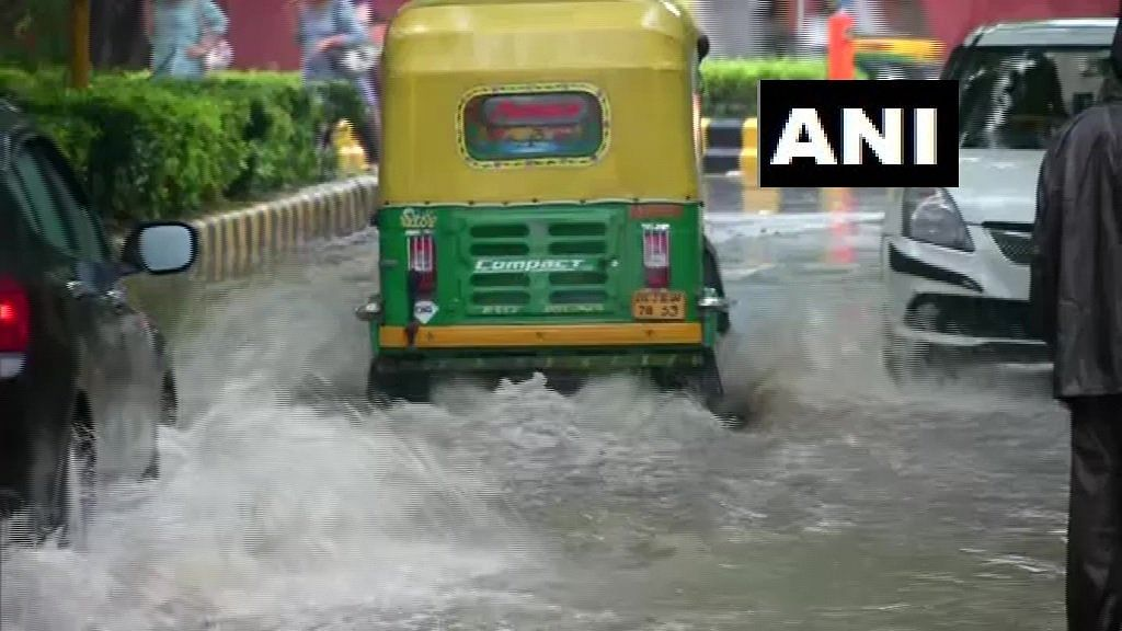Visuals from Baba Kharak Singh Marg area in Delhi