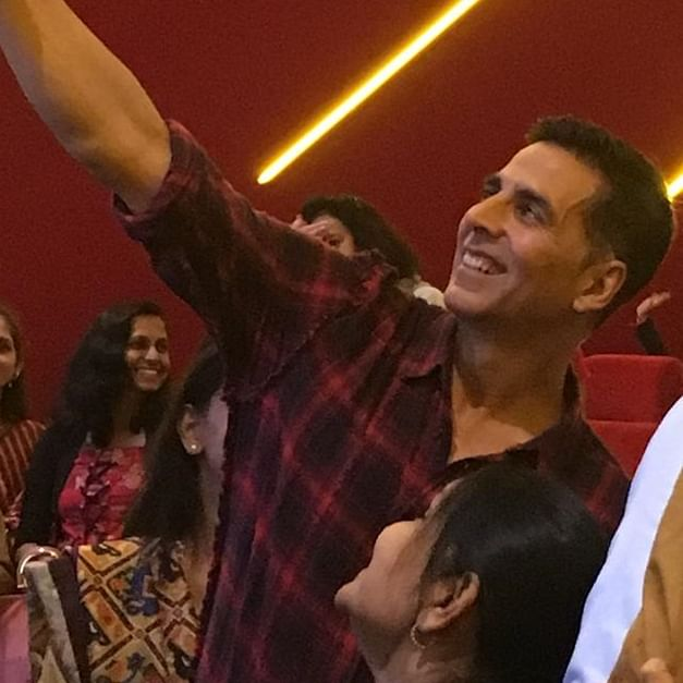 Akshay Kumar hosts special screening of 'Mission Mangal' for school students