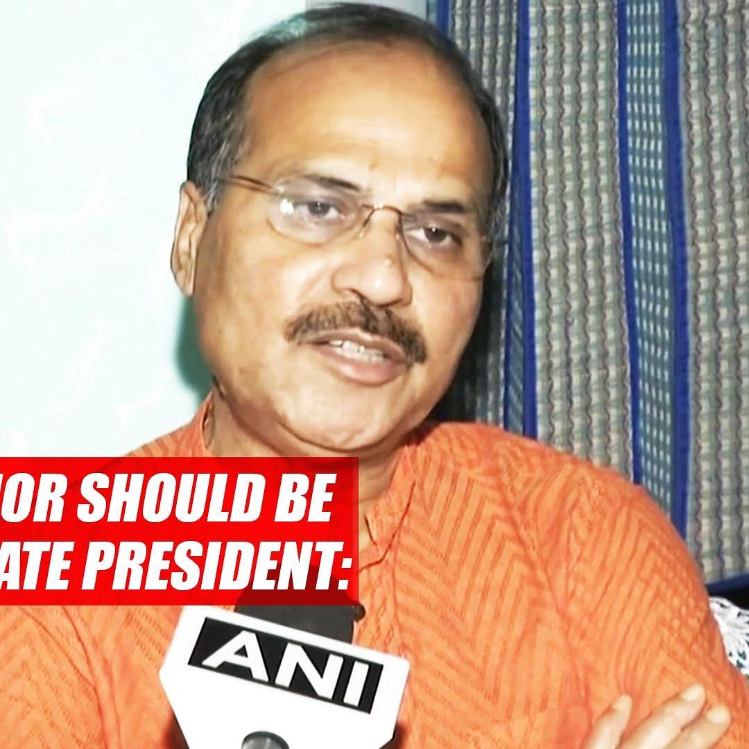 J&K Governor Should Be Made BJP State President: Adhir Ranjan Chowdhury