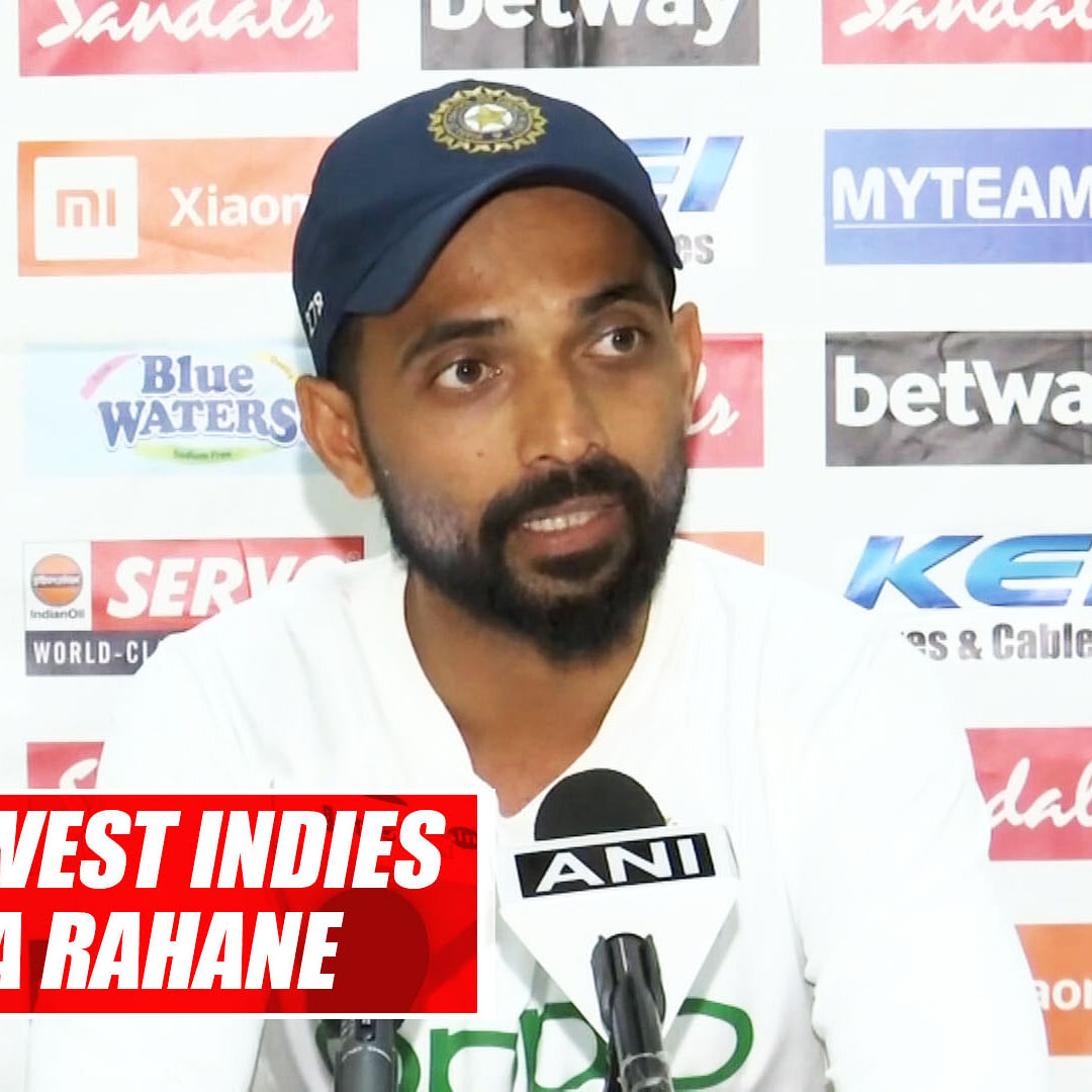 IND vs WI: Start Of Our Inning Was Freaky As Wicket Was Tricky And Sticky, says Ajinkya Rahane