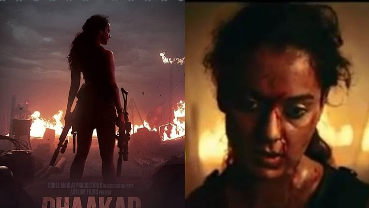 'Dhaakad' Teaser Out: Guns blazing Kangana Ranaut takes on enemies