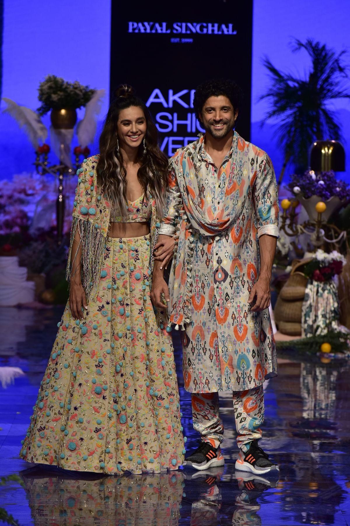 Shibani Dandekar and Farhan Akhtar
