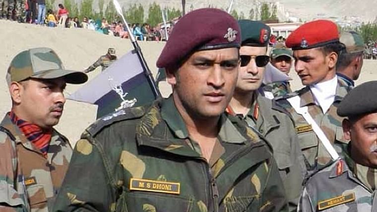 MS Dhoni ends stint as Lieutenant Colonel with Territorial Army in Jammu