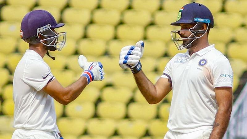 Ajinkya Rahane, Hanuma Vihari hit half centuries in drawn warm-up game against West Indies A