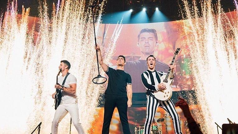 Jonas Brothers kick-off Happiness tour with Sebastian Yatra, Natti Natasha, and Daddy Yankee