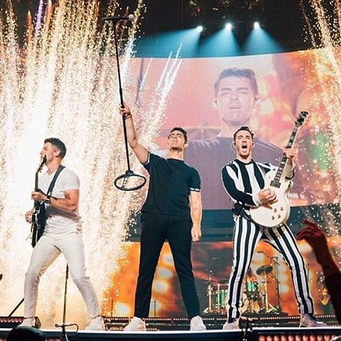 Jonas Brothers kick-off Happiness tour with Sebastian Yatra, Natti Natasha, and Daddy Yankee