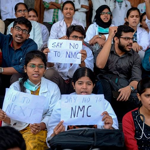 Resident doctors on strike against NMC bill, withdraw emergency services