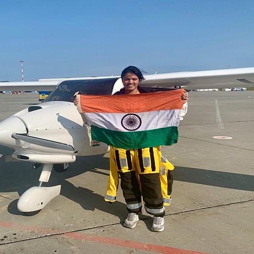 Mumbai: Aarohi Pandit makes aviation history with solo Pacific flight