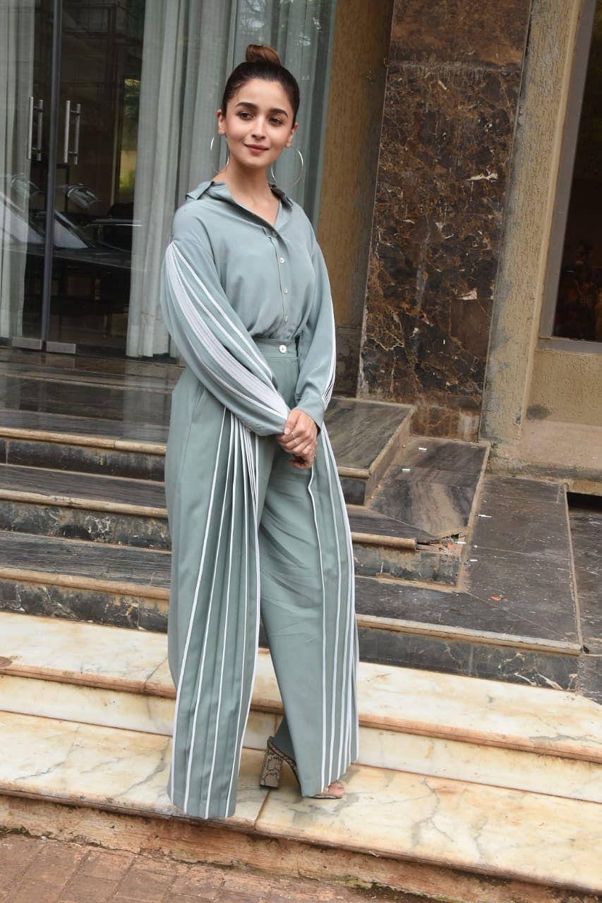 Alia Bhatt at the promotion oher new song 'Prada'
