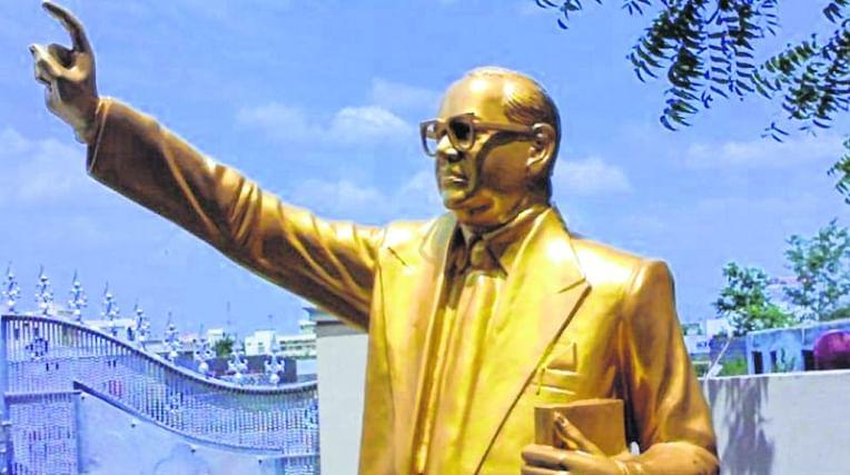 Tamil Nadu: Political leaders condemn vandalism of Ambedkar statue