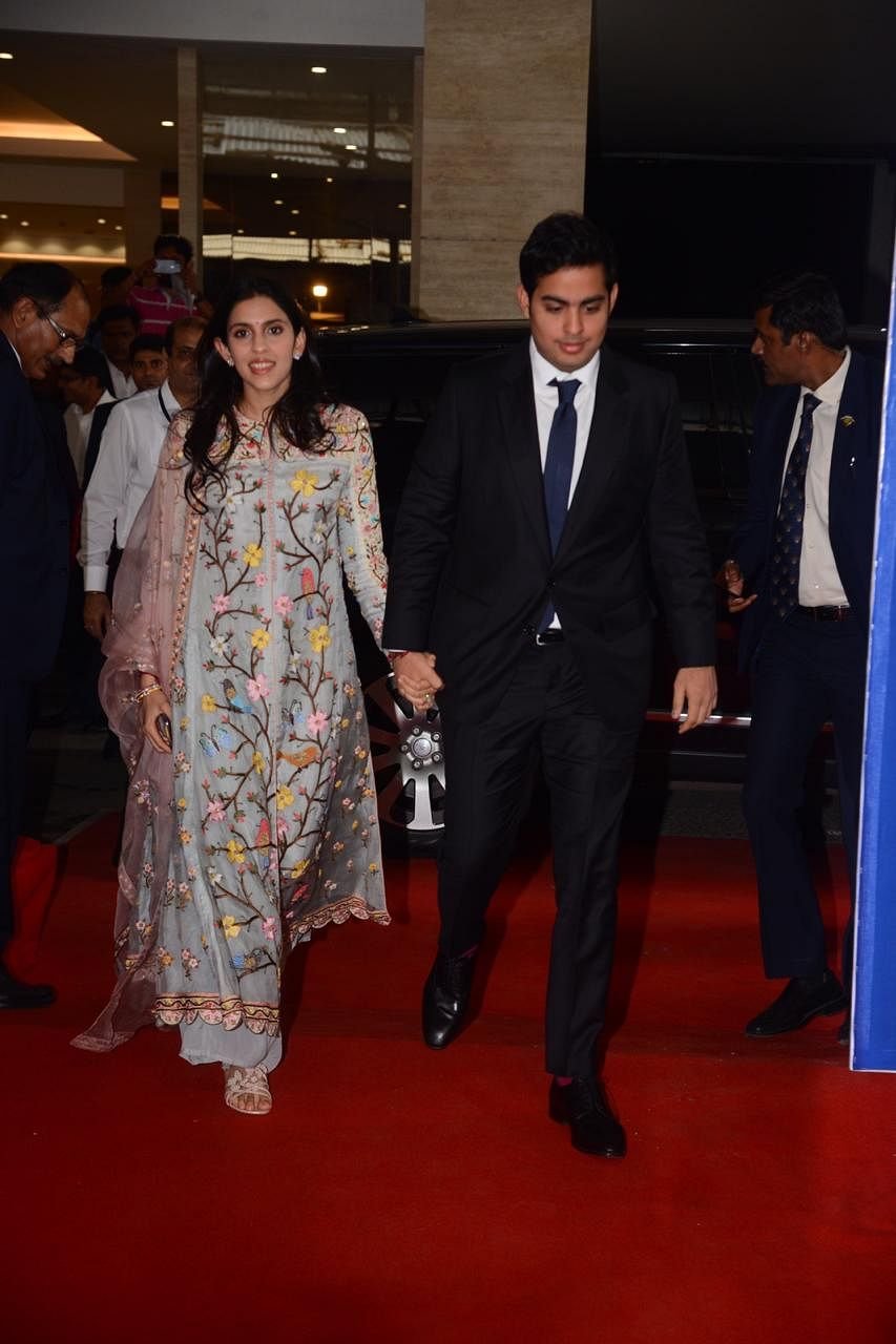Ambani Bahus Shloka and Radhika twin in blue as they attend Reliance Industries' AGM