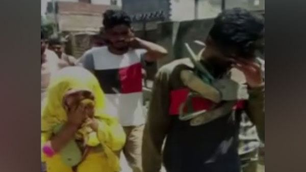 Juvenile boy and married woman were thrashed, garlanded with shoes and paraded in Daniyalpur village of Karnal, Haryana