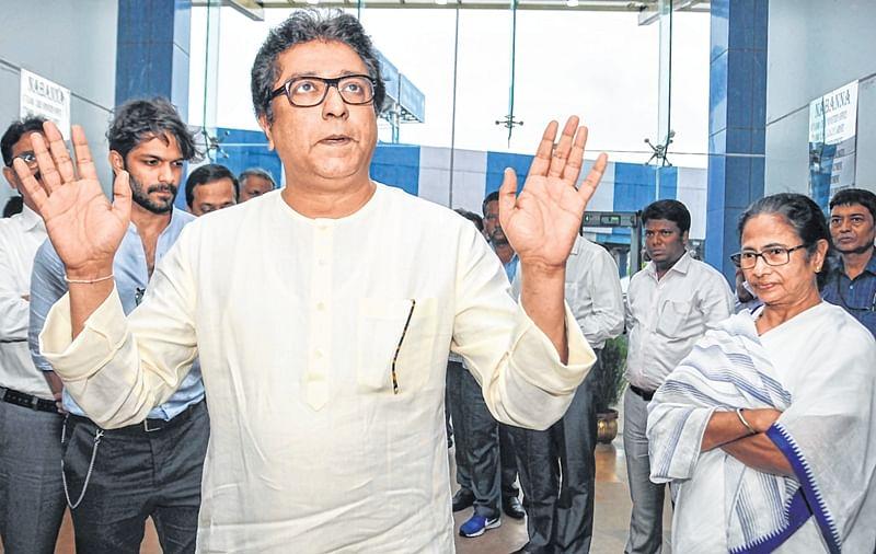 Raj Thackeray meets Mamata Banerjee over anti-EVM campaign