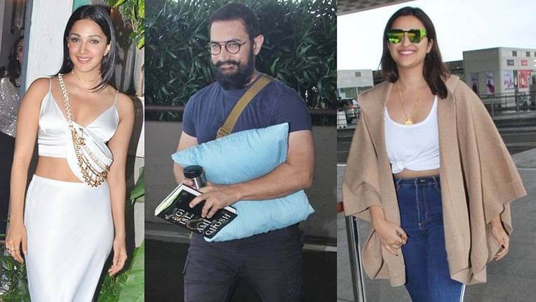 Have you seen these pictures of Aamir Khan, Parineeti Chopra and other B-town celebs?