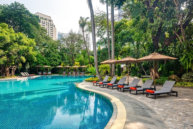 This Bangkok resort is a tropical paradise