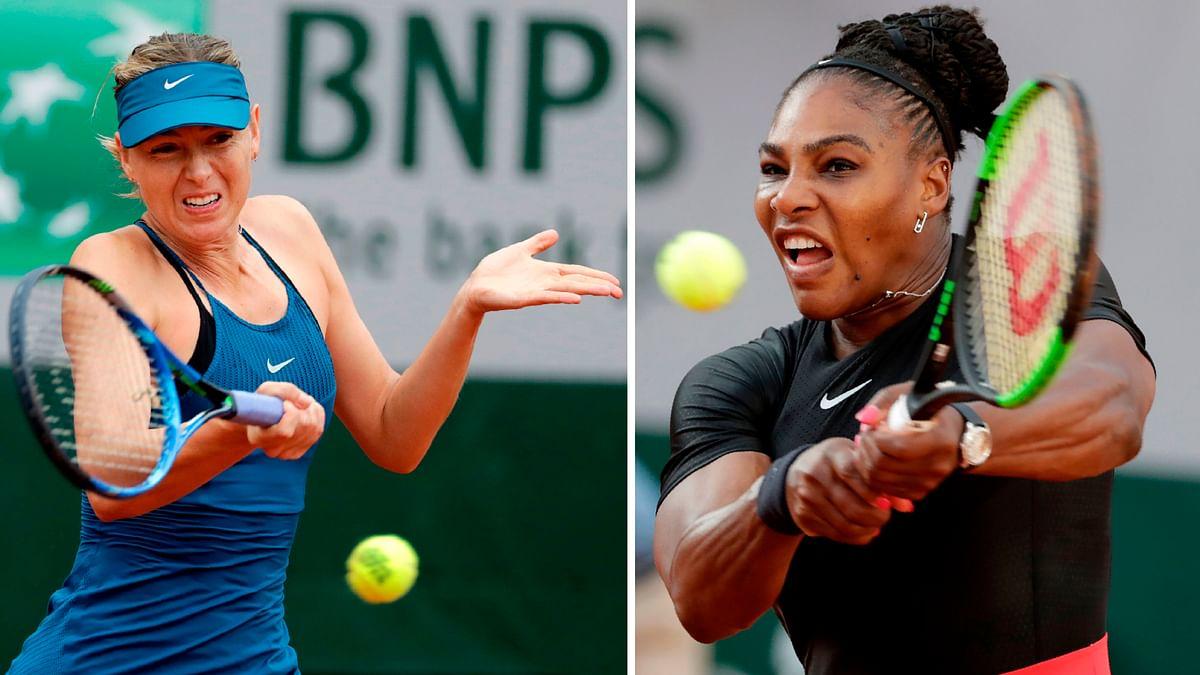 US Open: Serena Williams vs Maria Sharapova set for prime time on Day 1