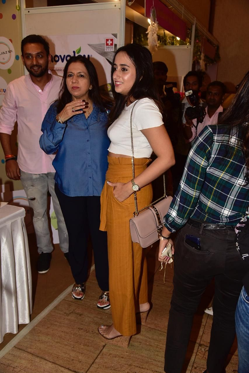 Varun Dhawan's girlfriend Natasha Dalal spotted at an event in Mumbai.