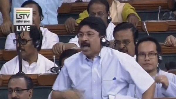 DMK MP Dayanidhi Maran in Lok Sabha