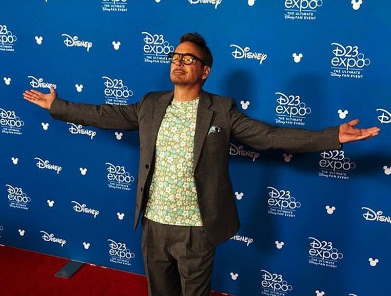 Robert Downey Jr jokes about getting arrested in Disneyland