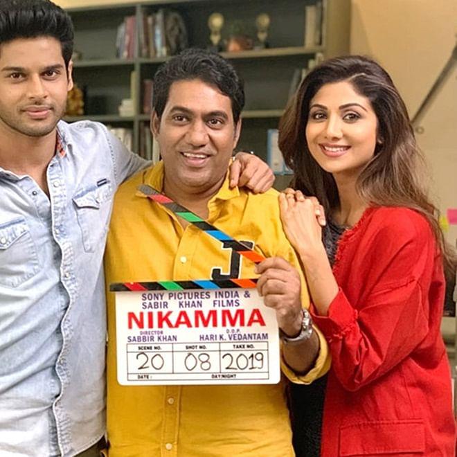 Shilpa Shetty's Bollywood comeback film 'Nikamma' goes on floors