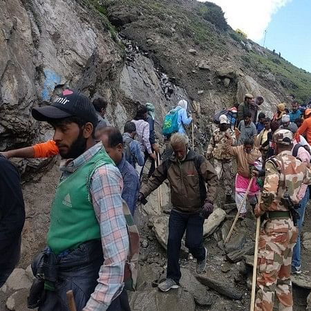 Pakistan govt, army were planning to execute lone-wolf attacks on Amarnath Yatra: Sources