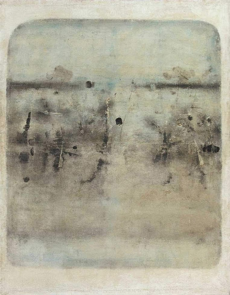 Loneliness of the long distance painter V S Gaitonde