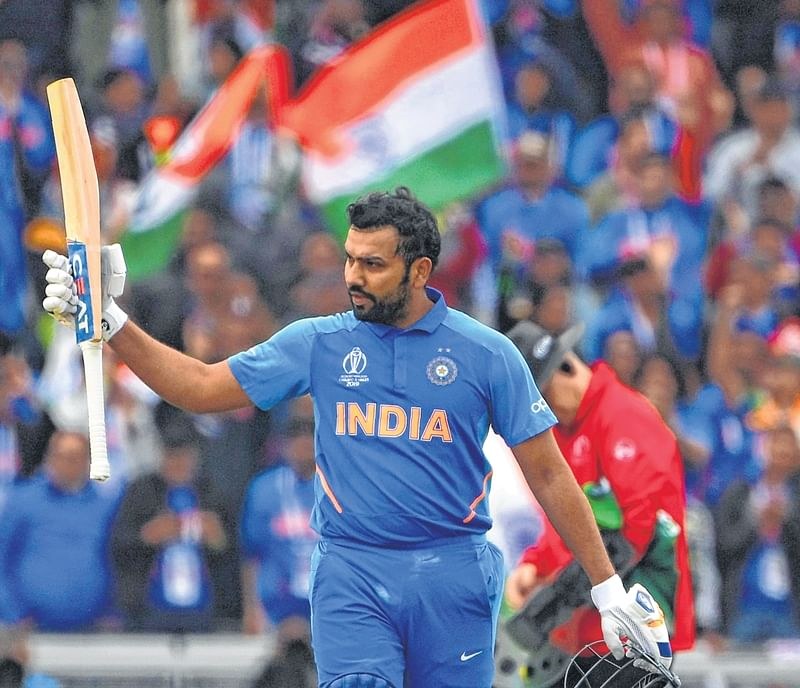 Rohit Sharma on verge of eclipsing Chris Gayle's record