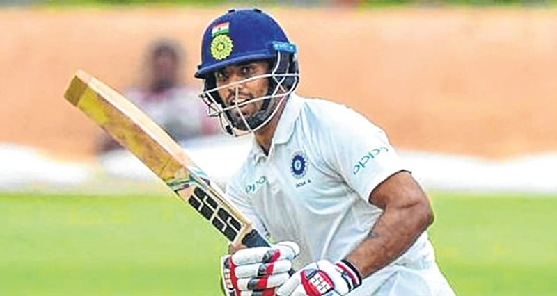 India 'A' totter at 11/4 after West Indies 'A' score 318